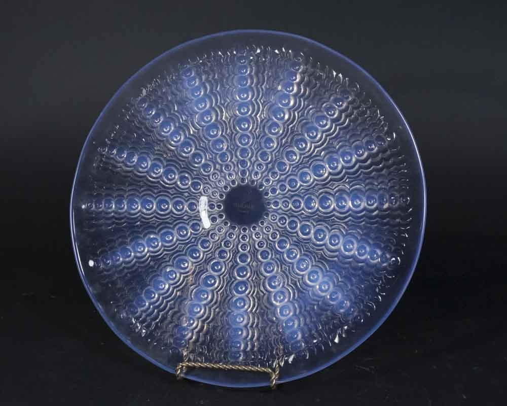 Lalique Glass Plate