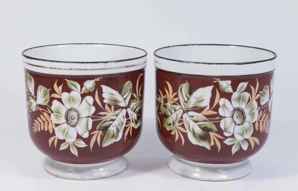 Pair Boda Porcelain Bowls