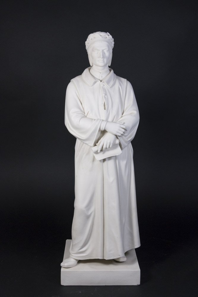 Parian Figure of Dante