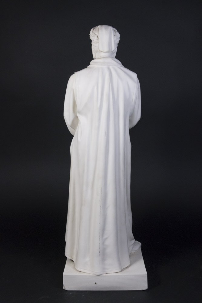 Parian Figure of Dante - 4