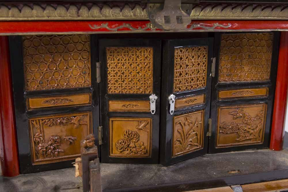 Asian Pagoda-Shaped Jewelry Box - 2