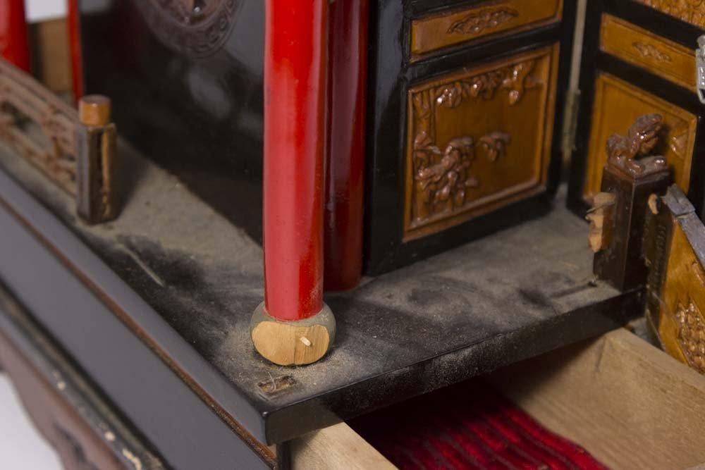 Asian Pagoda-Shaped Jewelry Box - 7
