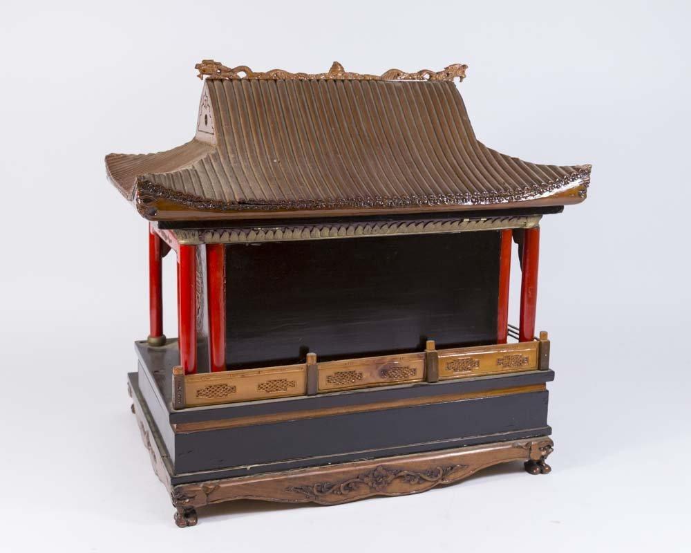 Asian Pagoda-Shaped Jewelry Box - 9