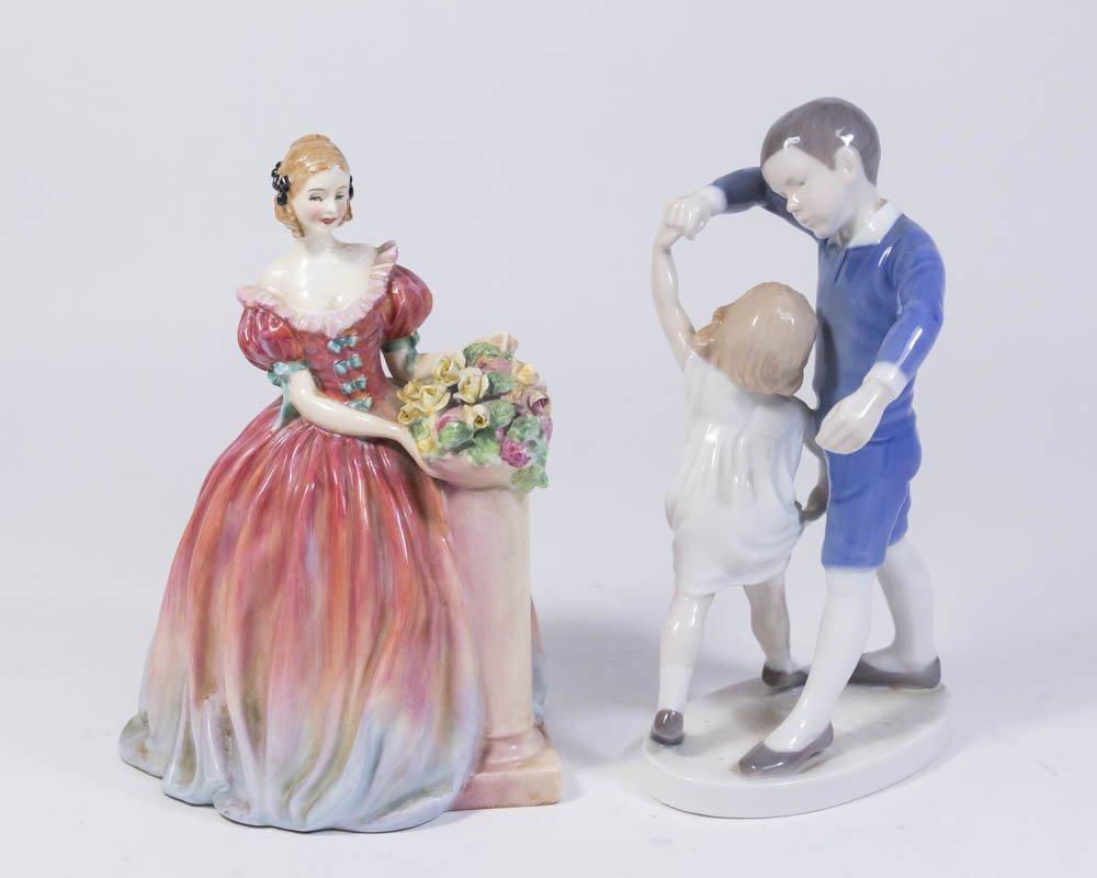 Bing & Grondahl & Royal Doulton Porcelain Figures