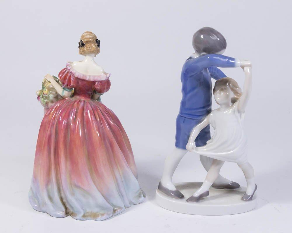Bing & Grondahl & Royal Doulton Porcelain Figures - 2