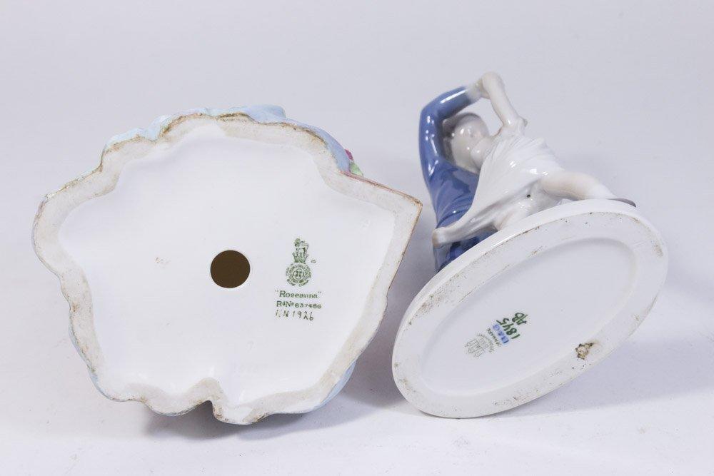Bing & Grondahl & Royal Doulton Porcelain Figures - 3