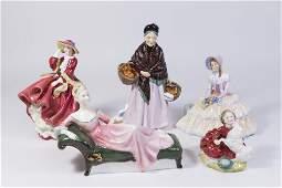 Lot 5 Royal Doulton Figures