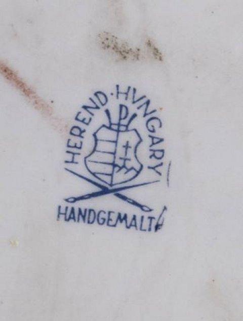 :Herend Porcelain Grouping of Man & Bull - 6
