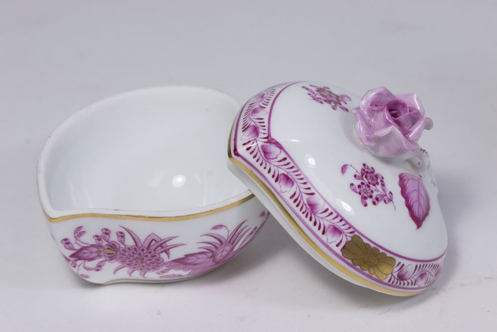 Lot of Herend Porcelain Pieces - 4