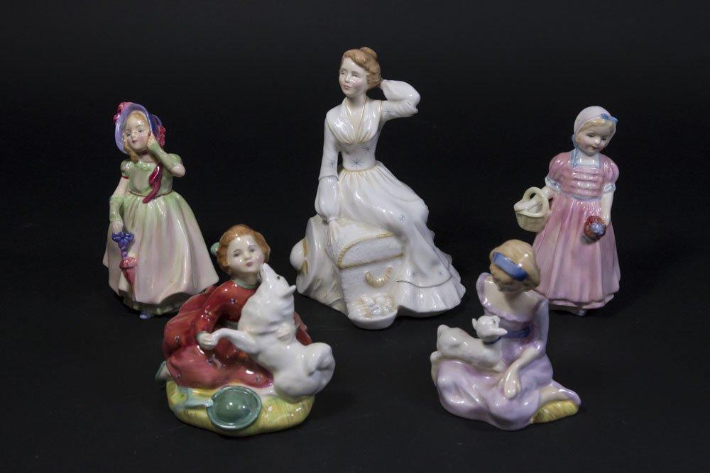 5 Royal Doulton Figurines