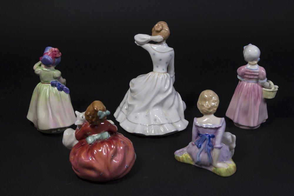5 Royal Doulton Figurines - 2