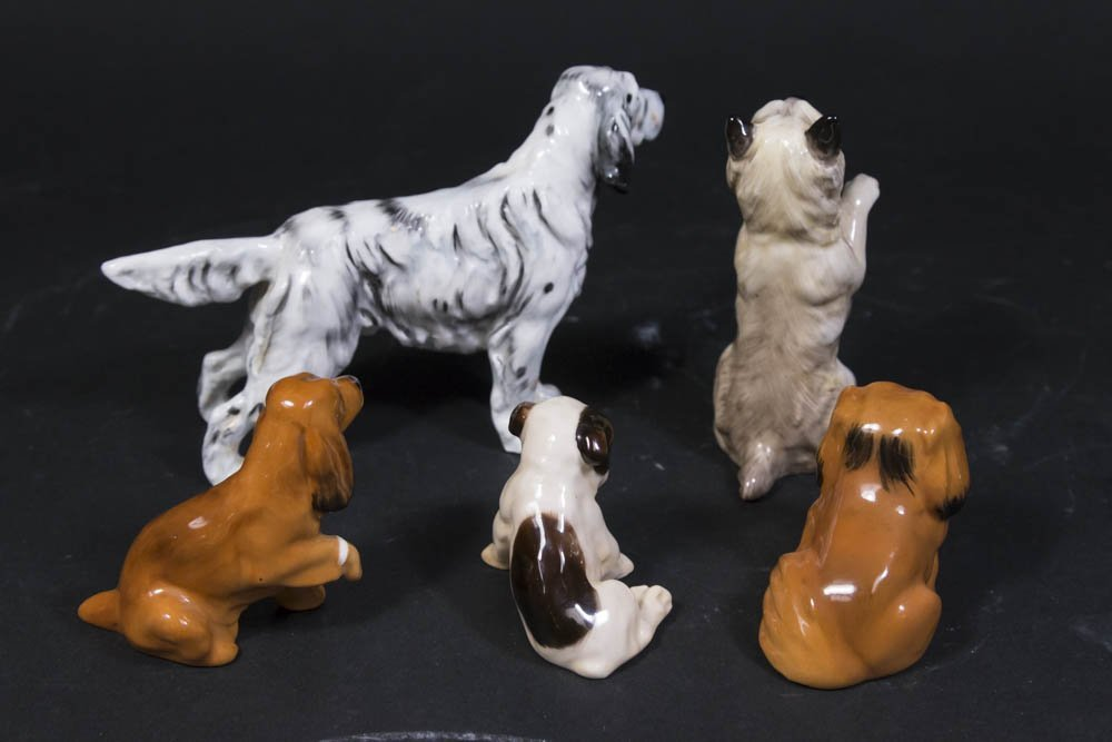 5 Royal Doulton Dog Figurines - 2
