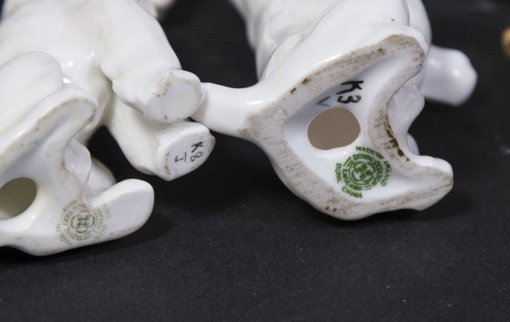 7 Porcelain Dog Figurines - 6
