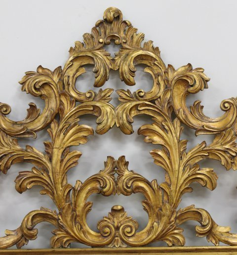 Carved Gilded Headboard - 2