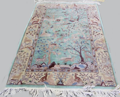 Handmade Persian Tabriz Wool Rug/Carpet