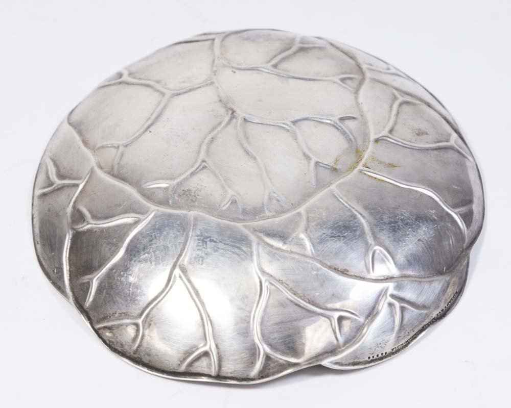 Tiffany & Co. Sterling Silver Round Cabbage Dish - 3