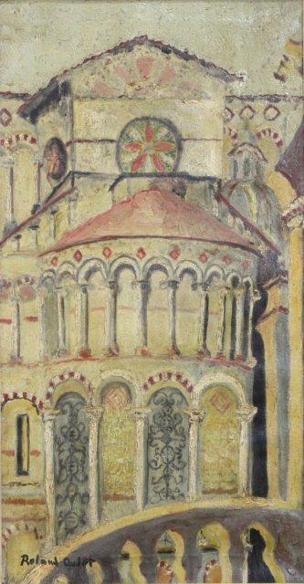 Roland Oudot, Church Facade