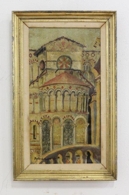Roland Oudot, Church Facade - 2