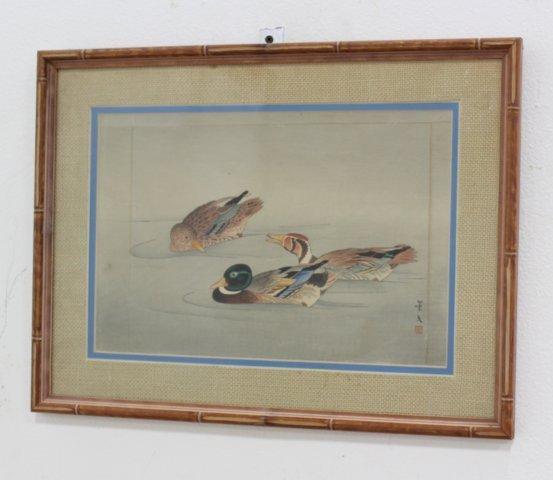 4 Japanese Prints/Woodblock - 5