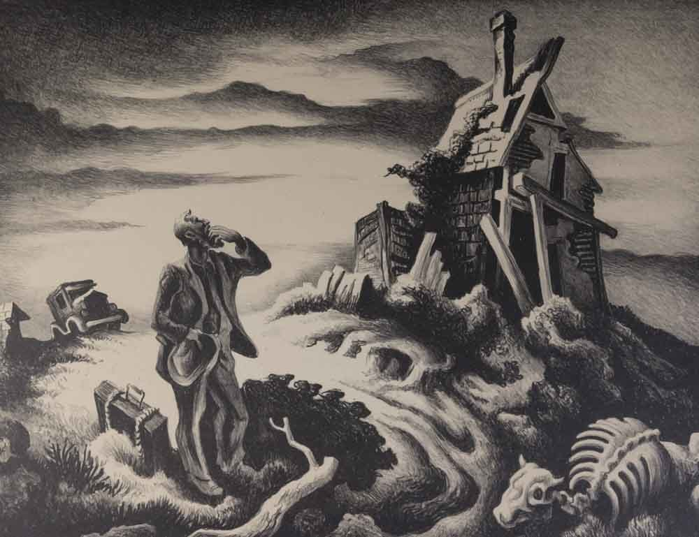 "Thomas Hart Benton, ""The Prodigal Son"" - 2"