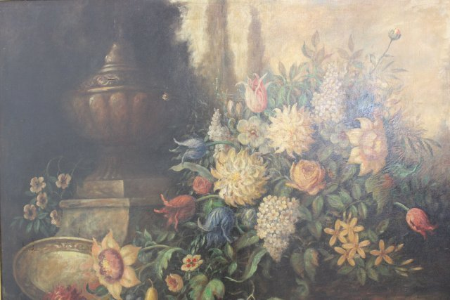A. Garfield Learned, Large Still Life