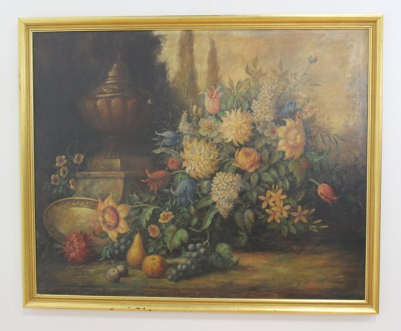 A. Garfield Learned, Large Still Life - 2