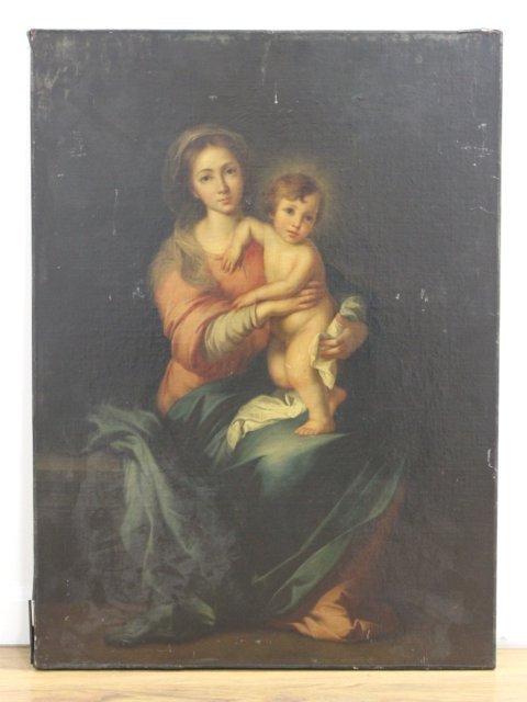 Madonna & Child - 2