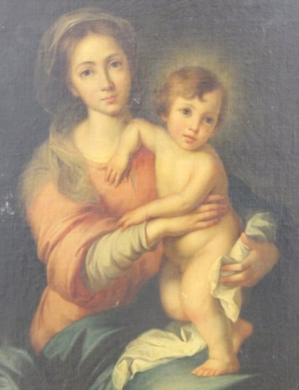 Madonna & Child - 3