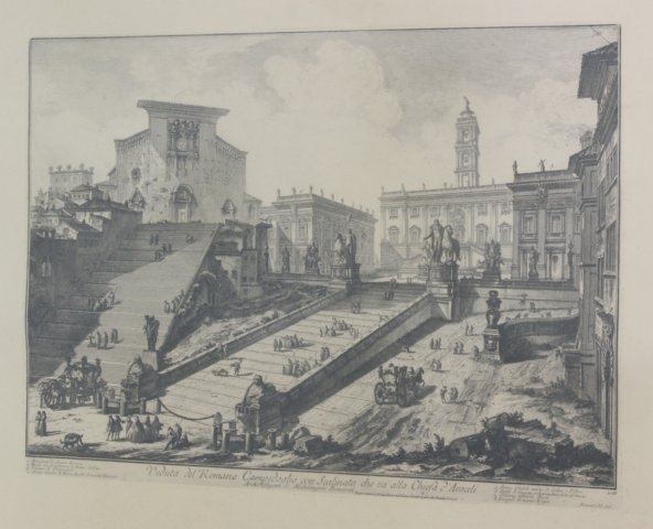 Piranesi Etching of Rome - 2