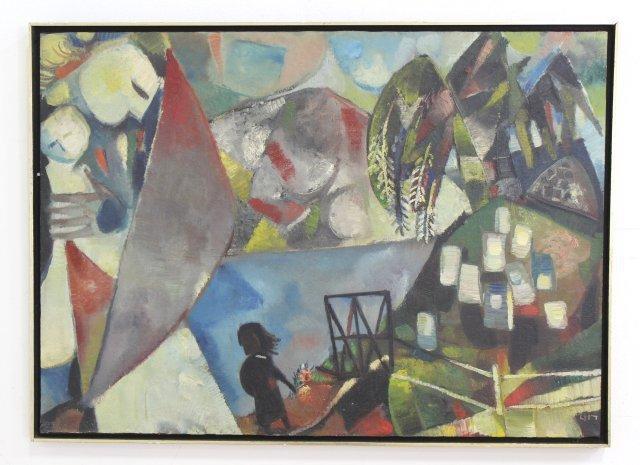 Israeli Abstract, Style of Kandinsky