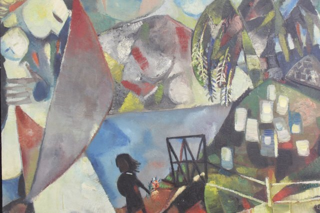 Israeli Abstract, Style of Kandinsky - 2