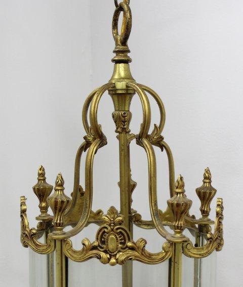 Brass Lantern with 5 Lights - 3