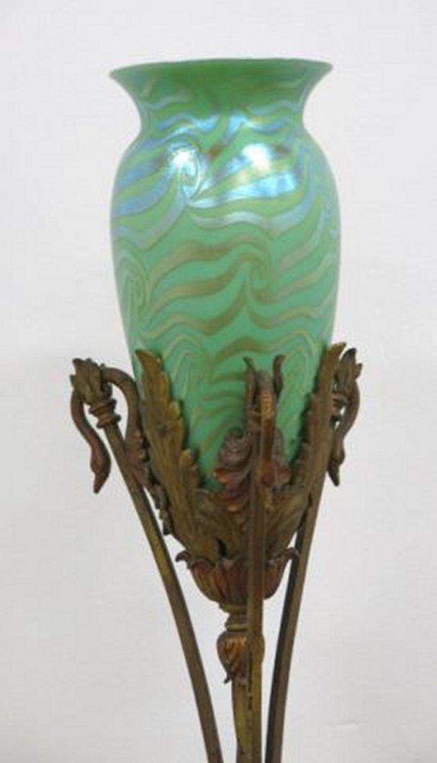 :Durand Art Glass Torchière - 2