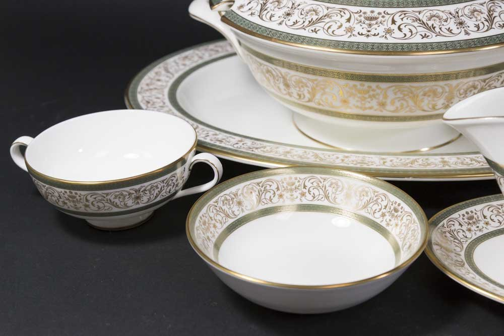 Minton Bone China Dinnerware Set - 5