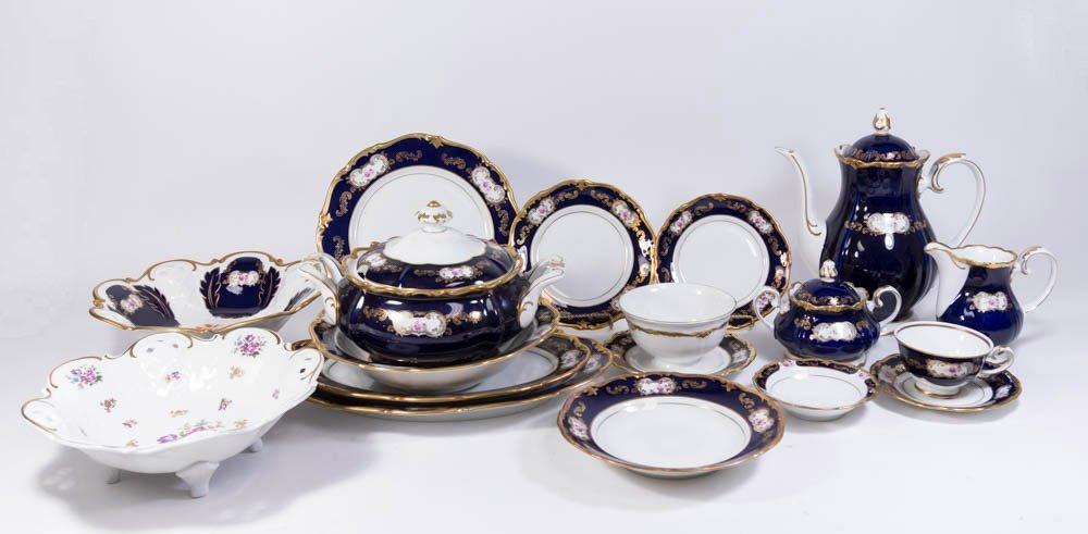 Reichenbach Dinnerware Set, Service for 12