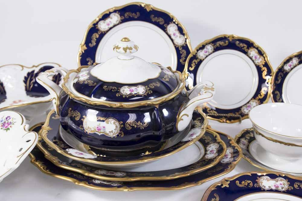 Reichenbach Dinnerware Set, Service for 12 - 3