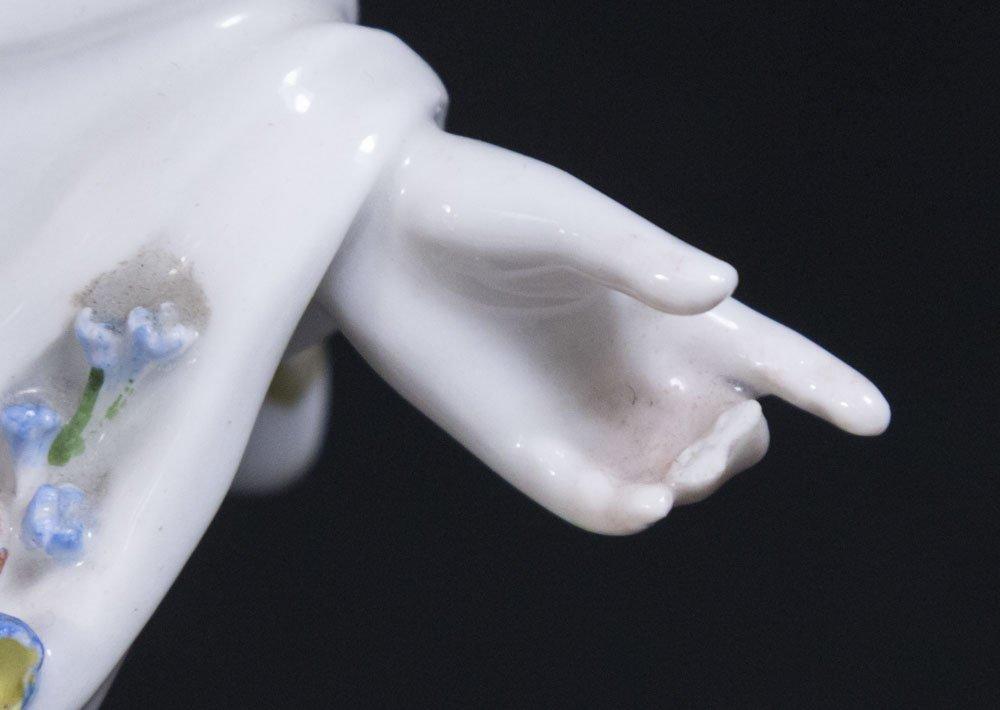 Set 4 Porcelain KPM Figural Master Salt Dishes - 4