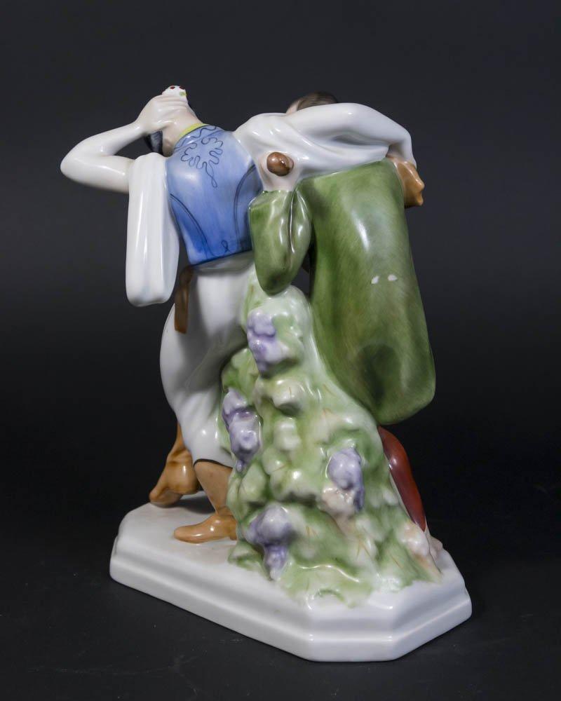 Herend Porcelain Dancer Figurine - 2