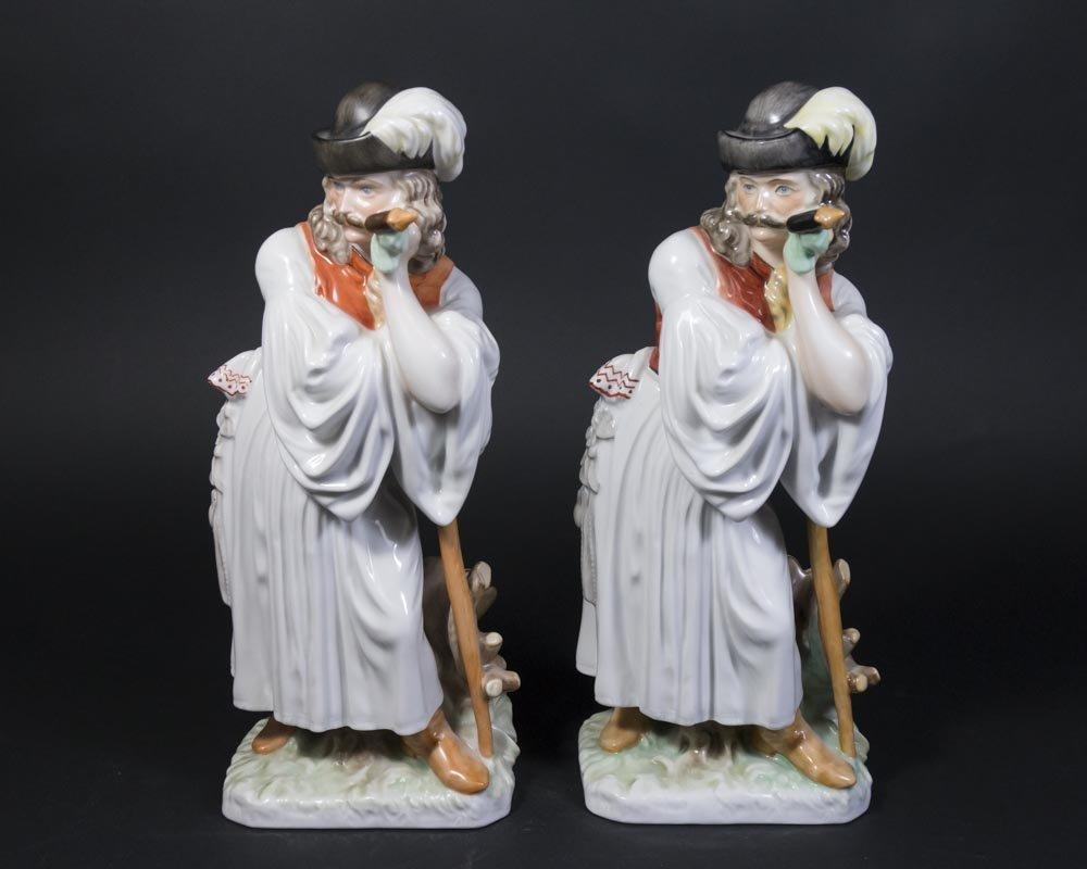 2 Herend Hungarian Shepherd Figurines