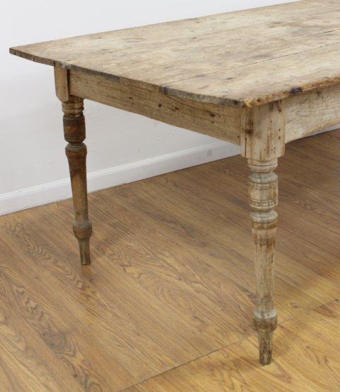 English Provincial Pine Farmhouse Table - 2
