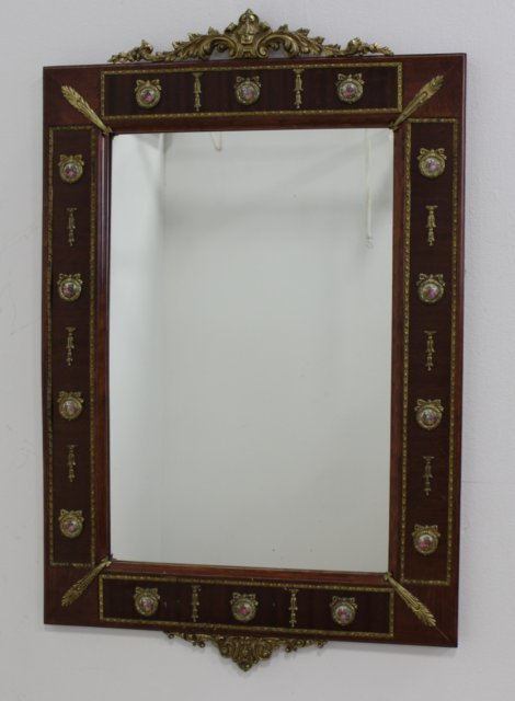 Marble Top Console with Mirror - 2