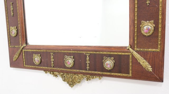 Marble Top Console with Mirror - 8