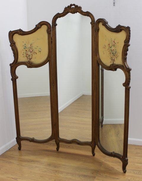 3-Section French Screen