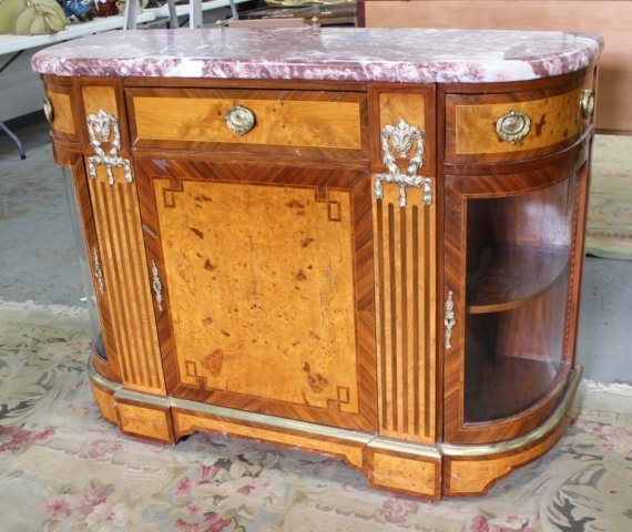 French 1930s Style Server Cabinet