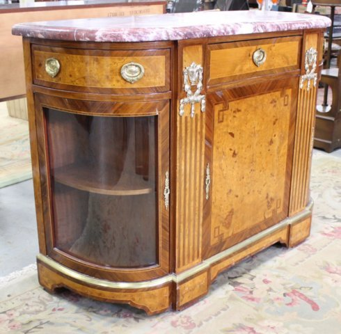 French 1930s Style Server Cabinet - 2