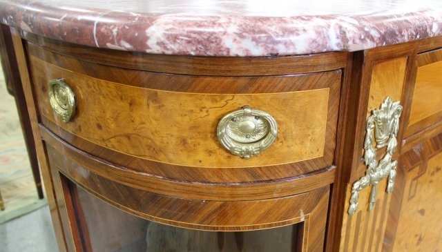 French 1930s Style Server Cabinet - 5