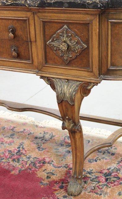 Marble Top 2-Drawer Sideboard - 6
