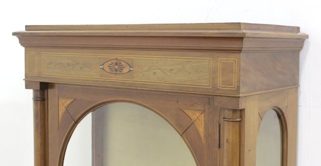 Continental Inlaid Display Cabinet - 2