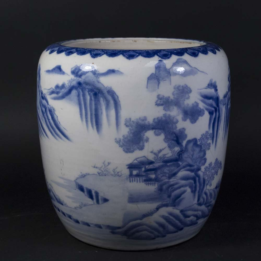 Chinese Porcelain Blue & White Planter