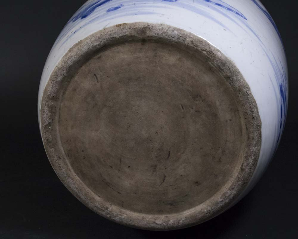 Chinese Porcelain Blue & White Planter - 5